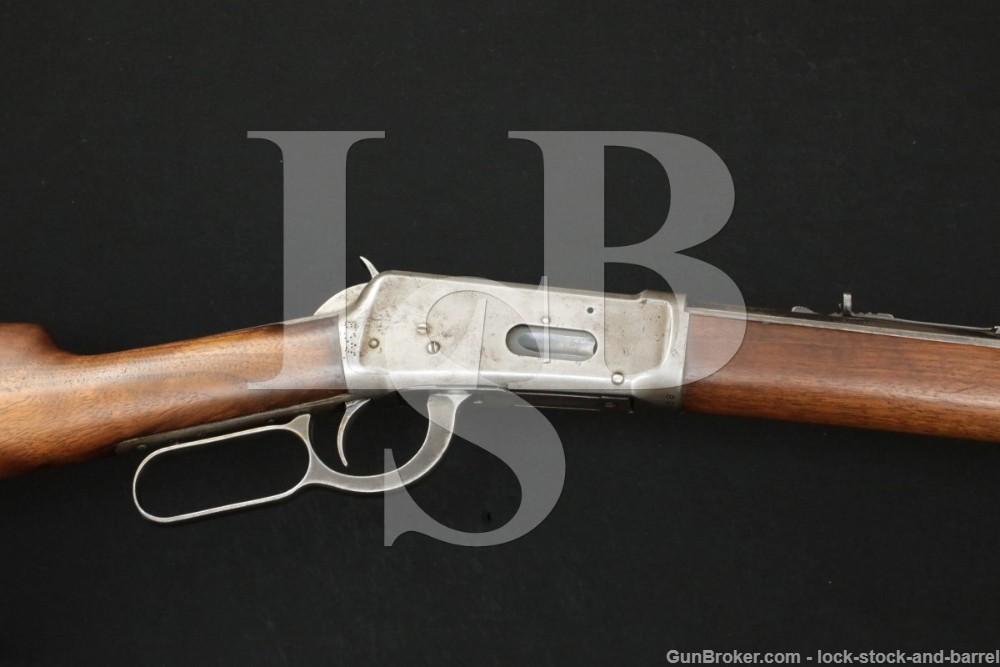 "Winchester Pre-64 Model 1894 '94 26"" .25-35 WCF Lever Rifle, MFD 1921 C&R"
