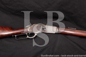 "28"" Winchester 1876 3rd Model .40-60 WCF, MFD 1884 Set Trigger Lever Action Rifle 76 Centennial Model"
