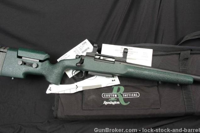Remington Custom Tactical Shop 40-XS 338 Lapua Mag. Law Enforcement .338 Lapua Magnum & Range Bag