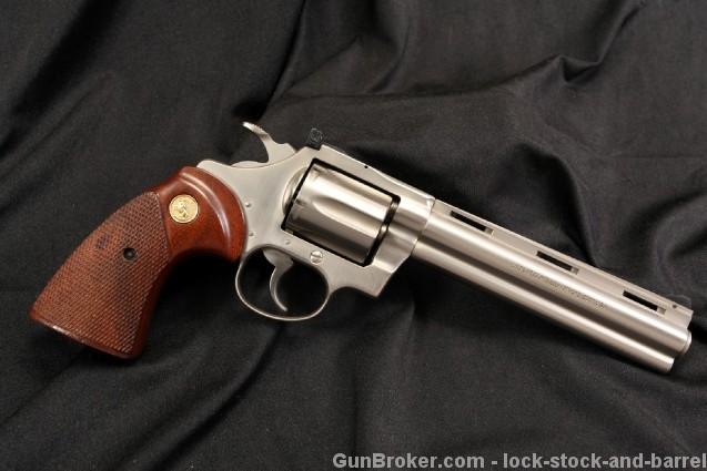 Rare Electroless Satin Nickel Colt 38 Diamondback .38 Special Double Action Revolver - Excellent