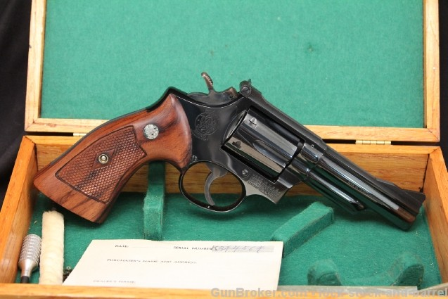 "4"" Cased Smith & Wesson S&W Model 19 .357 Magnum"