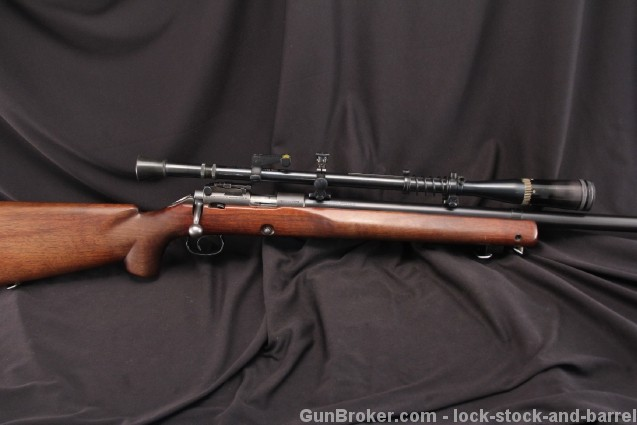 Winchester Model 52, 52B .22 LR Bolt Action Target Rifle – 1948 C&R – w/ Targetspot Scope