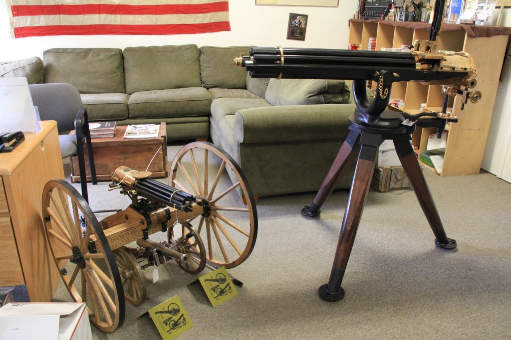 John Anderson Guncraft 1874 Gatling Gun Consigned at Lock Stock and Barrel Investments