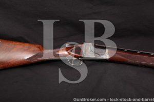 A.H. Fox J-Grade Engraved Single Trap Gun MFD 1919