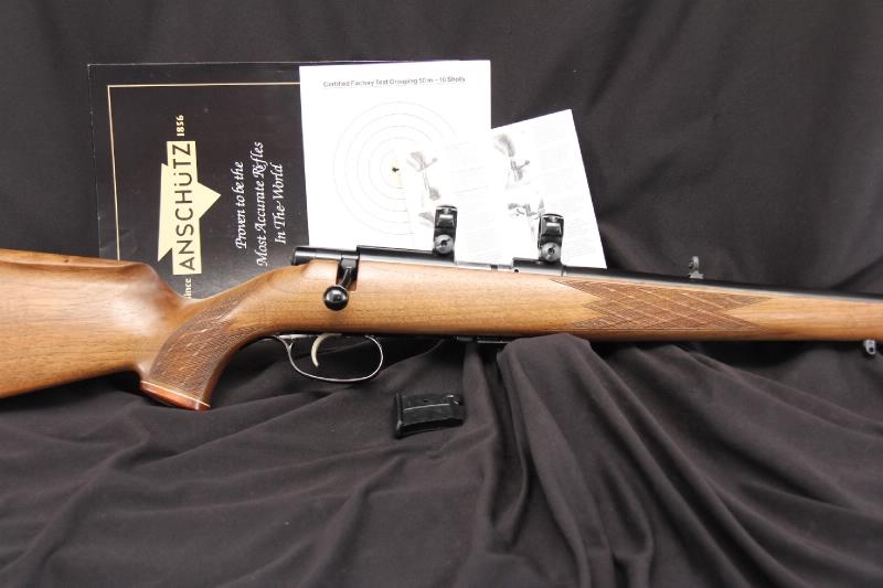 Anshutz Model 1422D -- .22 LR Bolt Action Target Rifle
