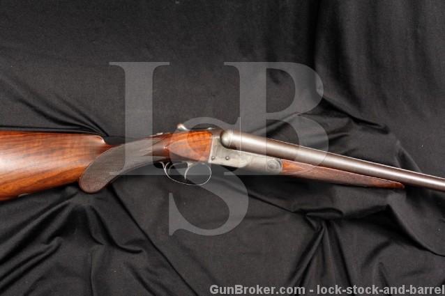 BEAUTIFUL Colt Model 1883 12 Gauge Hammerless SxS Side by Side Shotgun - MFD 1890 Antique