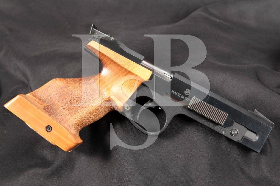 "Beeman FAS Model C.F. Center Fire 603 Olympic Right Hand RH, Blue & Matte Black 5-1/4"" Semi-Automatic Target Pistol & 5 Rd. Magazine"