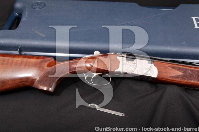 Beretta Model 687 Silver Pigeon II 32″ 12 Ga. O/U J687418, Over/Under Shotgun & Case, MFD 2003