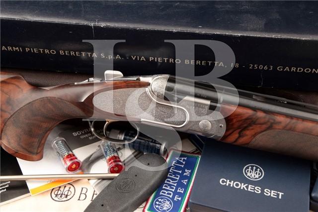 Beretta Model DT10 Trident EELL Sporting, Engraved Bottega Giorlanelli O/U Over / Under Shotgun