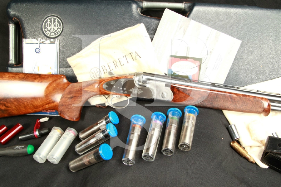 Beretta SO5 Sporting Clays Factory & Briley Choke 29.5 O/U Over/Under Shotgun & Case, MFD 2003