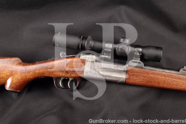 Birmingham England Sporting Rifle on Remo Receiver .25-35 Ackley Single Shot Hunting Rifle, 1926 C&R