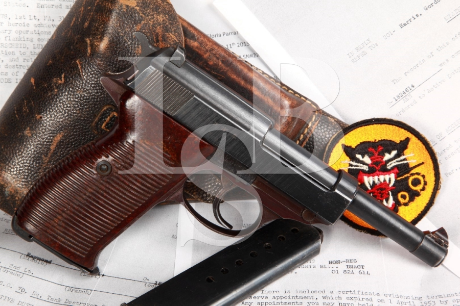 Bringback Walther Model P38 ac/44 Documented Nazi Semi-Automatic Pistol MFD 1944 C&R