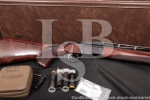 "Browning BT99 BT-99 Plus Single Barrel Trap & Case Blue 32"" Ported Shotgun & Chokes, MFD 2015 12 GA"