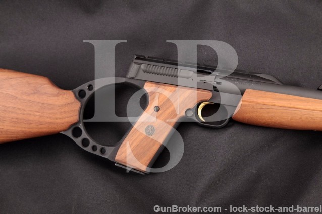 Browning Buckmark Sporter Rifle .22 Long Rifle LR Matte Blue, Hi- Viz Fiber Optic Carbine, MFD 2011