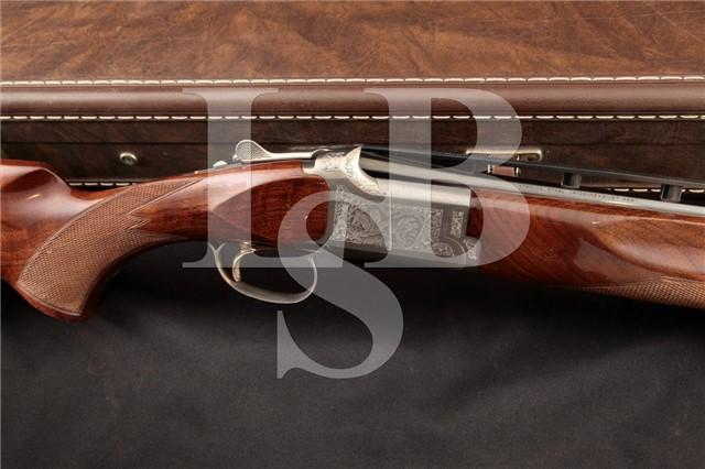 """Browning Citori Target Grade III Skeet .410 O/U 28"""" Over/Under Target Shotgun & Case, MFD 1986"""