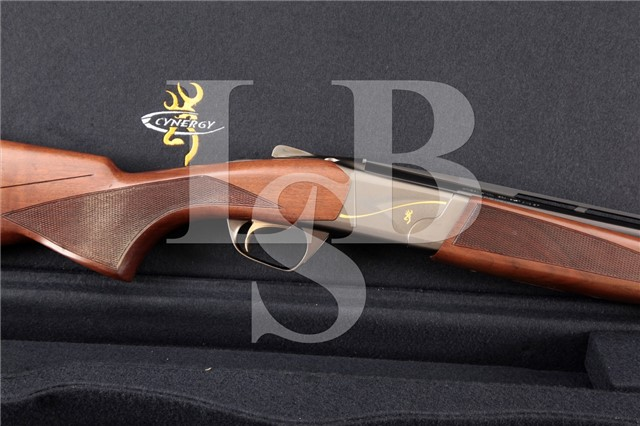 Browning Cyngery Feather, Invector Plus 26″ 12 Ga O/U Over Under Shotgun, Case & Chokes, MFD 2007