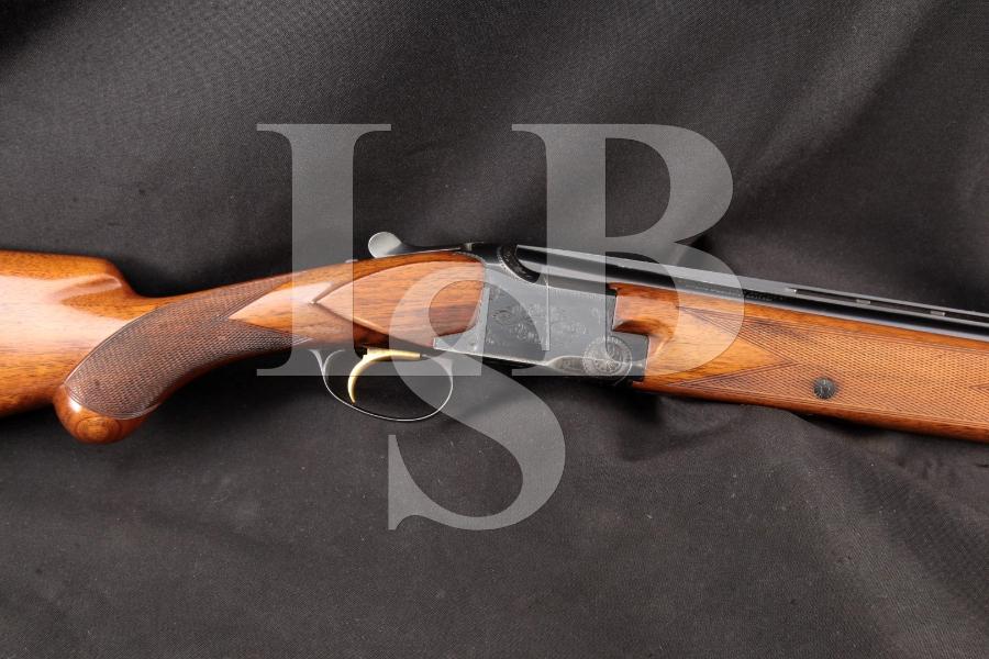 Browning (FN) Fabrique Nationale, Belgium Superposed Lightning Grade I Magnum, 12 Gauge Blue 28″ Over Under Shotgun, MFD 1969