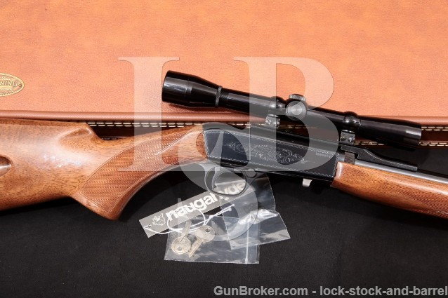 Browning (FN) SA22 SA-22 .22 LR Belgium Grade I Takedown Semi-Automatic Rifle, Scope & Case 1973