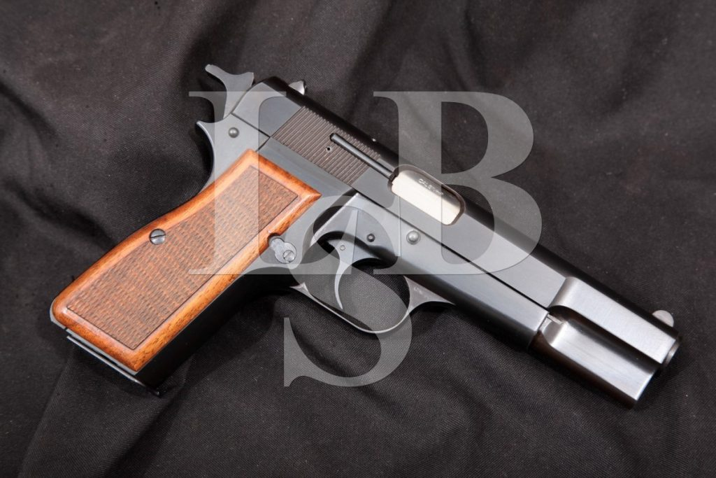 Browning (Fn) Belgian Model Hi-Power High Power, Single Action Semi-Automatic Pistol, MFD 1976 9mm Luger