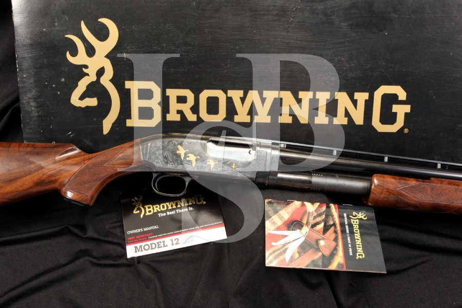 Browning Model 12 28 Gauge Pump Action Sporting Shotgun with Modified Choke