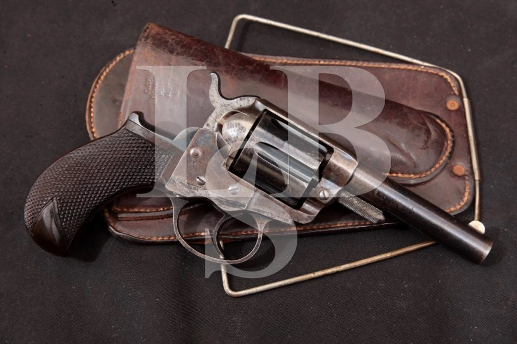 Colt 1877 Lightning Shopkeepers Special 1st Year Matching #S, BlueCase 3 Double Action Only Revolver, MFD 1877 Antique .38 Colt