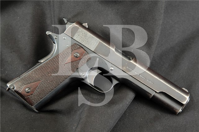 Colt 1911 Government Model U.S. Marked Blue 5″ .45 Semi-Automatic Pistol MFD April 12, 1915 WWI C&R