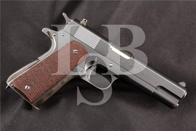 Colt 1911 Model ACE .22 LR Blue 4.75″ Semi Automatic Pistol, MFD Pre 1947 C&R