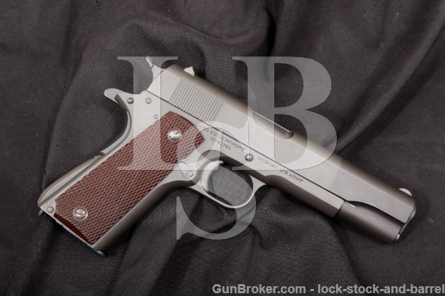 "Colt 1911A1 1911-A1 U.S. Marked Parkerized .45 ACP 5"" SA Semi-Automatic Pistol, MFD October 1941 C&R"