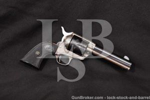 "Colt 2nd Gen Single Action Army SAA, 4 3/4"", 1957 Blue & Case Color Revolver, C&R .38 Special SPL"