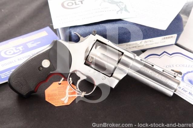 Colt Anaconda .44 Magnum 4″ Stainless Revolver