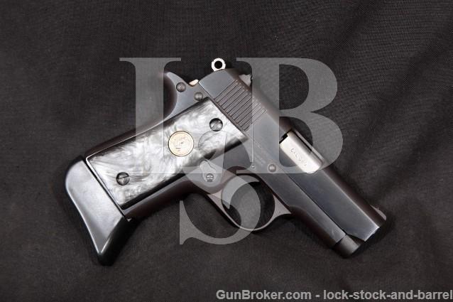 "Colt Black Stallion (Like Mustang) Blue 2.75"" .380 One Of 500 Semi Automatic Pistol MFD 1994"