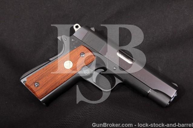 Colt Italian Contract Commander Lightweight 7.65mm .30 Luger Semi-Automatic Pistol, MFD 1971