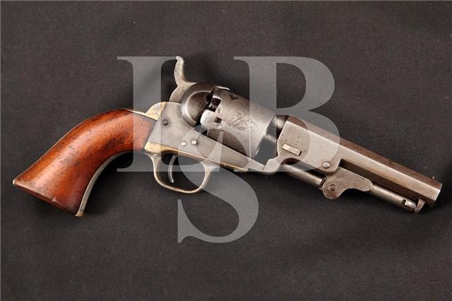 Colt Model 1849 Pocket, Pre-Civil War, .31 Caliber Single Action Percussion Revolver MFD 1855 Antique