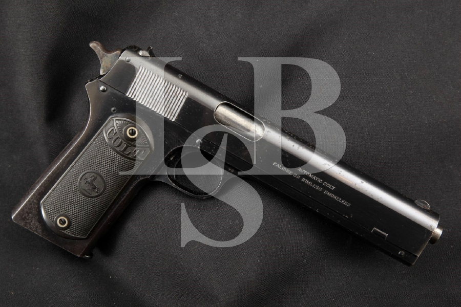 "Colt Model 1902 Military, Original Blue 6"" 'Long Slide' Semi-Automatic Pistol, MFD 1920 C&R"