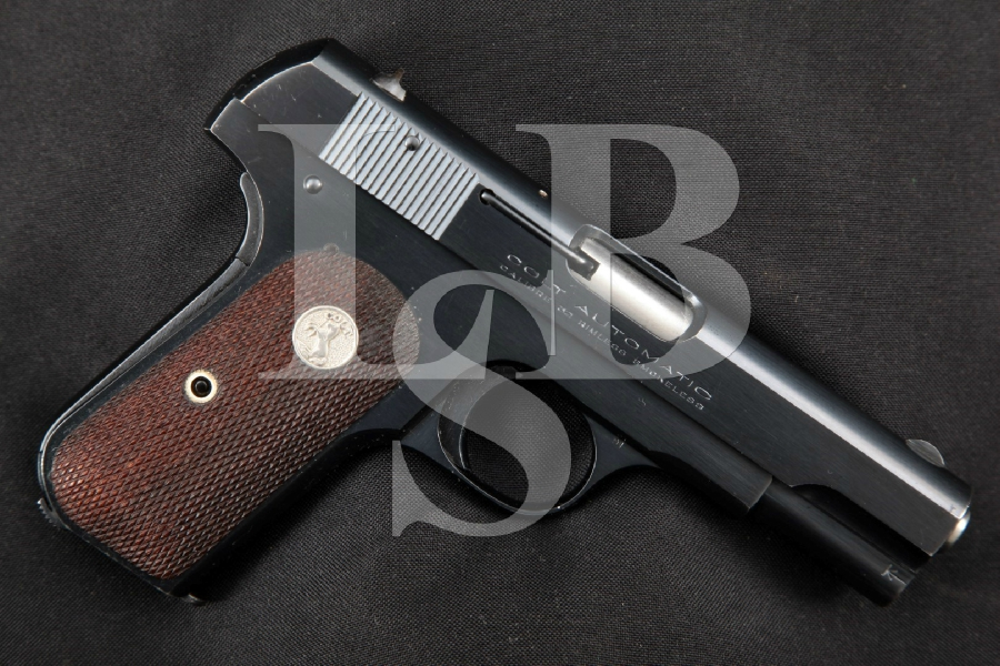 "Colt Model 1903 Pocket Hammerless Automatic Type III, Blue 3 ¾"" Semi-Automatic Pocket Pistol, MFD 1928 C&R"