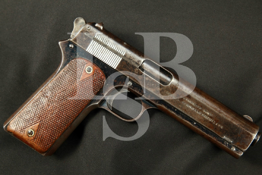 "Colt Model 1905 – THE FIRST .45 ACP Blue 5"" Semi-Automatic Pistol, MFD 1907 C&R"