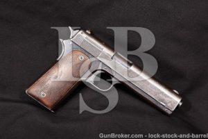 Colt Model 1907 US Trials Pistol, Serial Number 54 .45 2nd Variation Semi-Auto Pistol K.M. Marked C&R