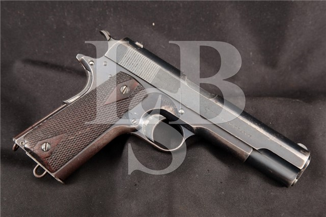 Colt Model of 1911 US Army .45 ACP Shipped 1912 12/6/1912 – Commanding Officer Augusta Arsenal