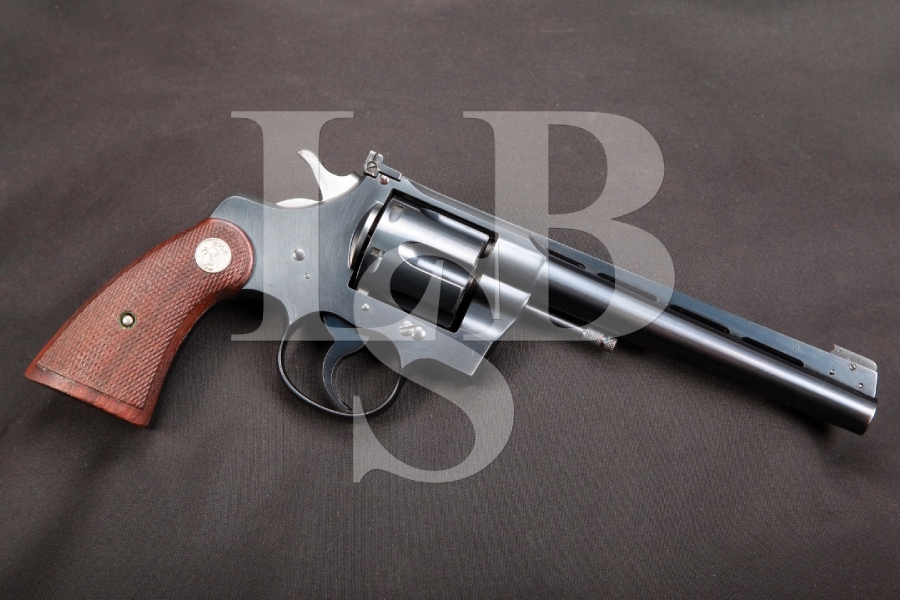 Colt Officer's Model Special 3rd Issue Heavy Barrel – King Super Target Sights Heavy Barrel Double Action Revolver MFD 1940 C&R