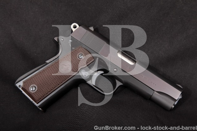 "Colt Pre-Series '70 Commander Lightweight 9mm 4 1/4"" SA Single Action Semi-Automatic Pistol 1969"