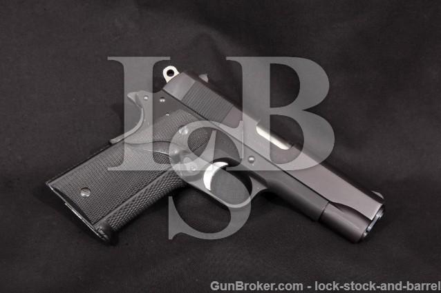 "Colt Series '70 Commander Lightweight Commander CLW 4 1/4"" Semi-Automatic Pistol, .45 ACP MFD 1978"