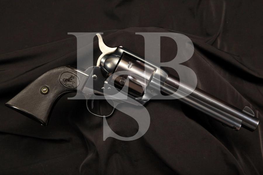 Colt Single Action Army SAA .38 SPL SA Revolver, STEMBRIDGE MOVIE GUN, C&R