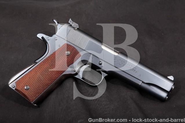 "Colt Super Match .38 Automatic Adjustable Sight Blue 5"" SA Semi-Automatic Pistol, MFD 1937 C&R"