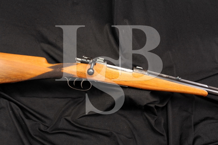 Custom 8mm Commercial Mauser Engraved Bolt Rifle with Set Triggers – Nonimport C&R OK – German Guild Gun