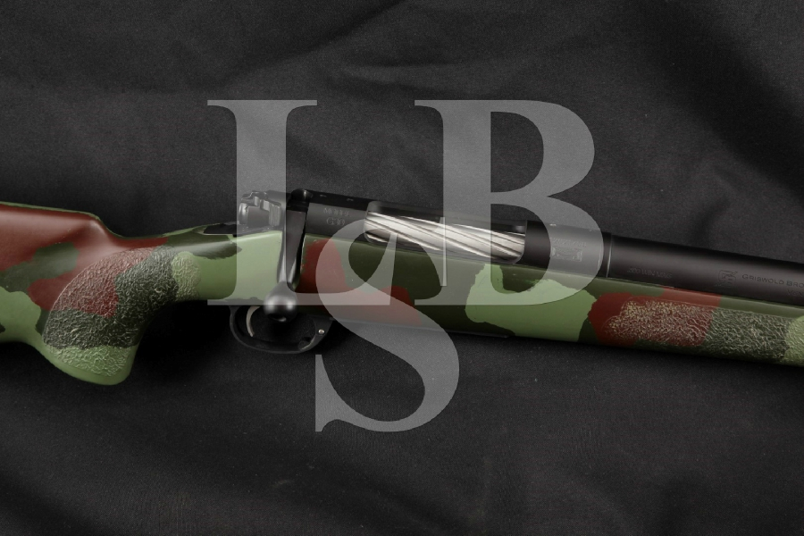 "Custom McMillan & Griswold Brothers Model G30 G-30, Heavy 24"" -- Bolt Action Precision Rifle With Hinged Floorplate"