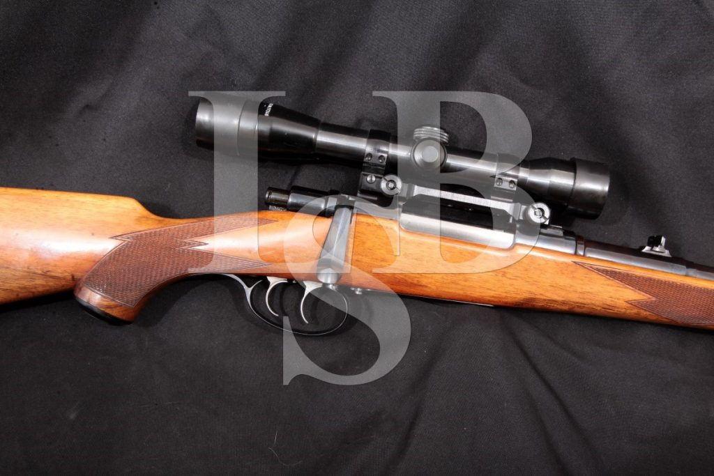 Cz-Brno Model 21h 21 H, Sporting 8x57s Bolt Action Rifle & Kkahles Helia Super Scope, MFD 1950 C&R 8mm Mauser