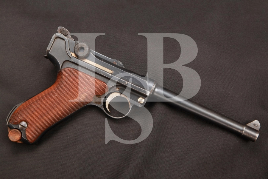 DWM 1914 Naval Luger Matching #'s Semi-Automatic Pistol, MFD 1917 C&R