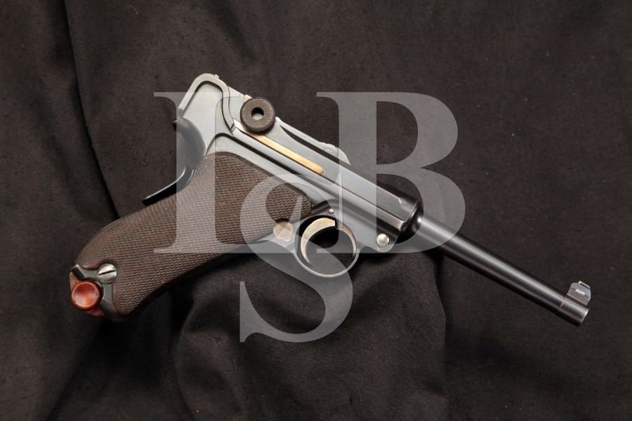 DWM Model 1906 7.65MM American Eagle Luger, Matching S/N's, C&R