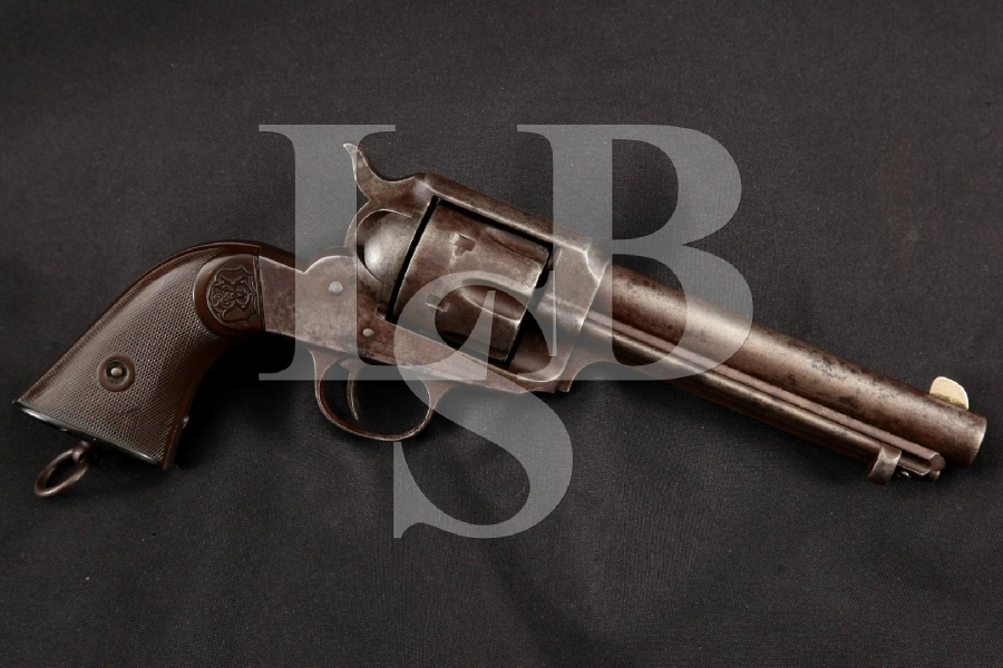 "E. Remington & Sons Model of 1890 S.A.A. SAA, Blue 5 3/4"" Single Action Army Revolver, MFD 1890-1896 Antique"
