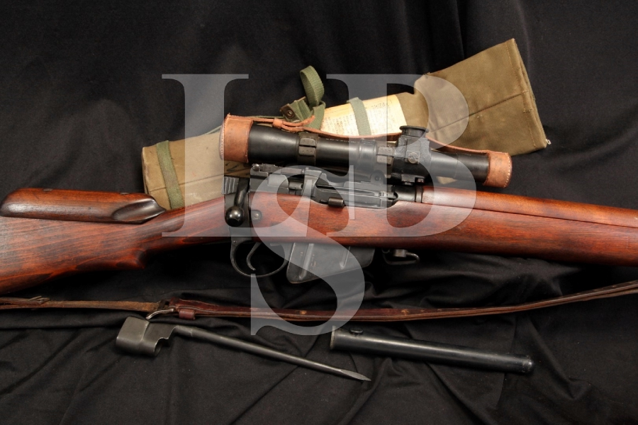 Early Trials Holland & Holland Enfield No4 Mk1 .303 Bolt Action Sniper Rifle 1933
